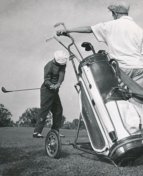 Photo époque Golfeurs Biarritz
