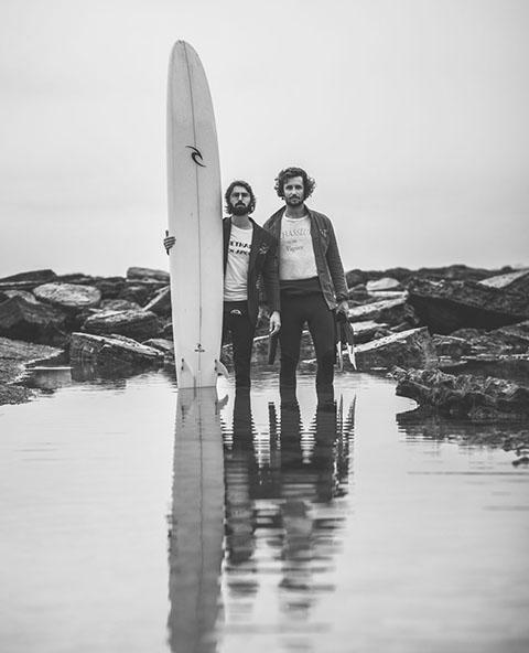 Surfeurs Biarritz
