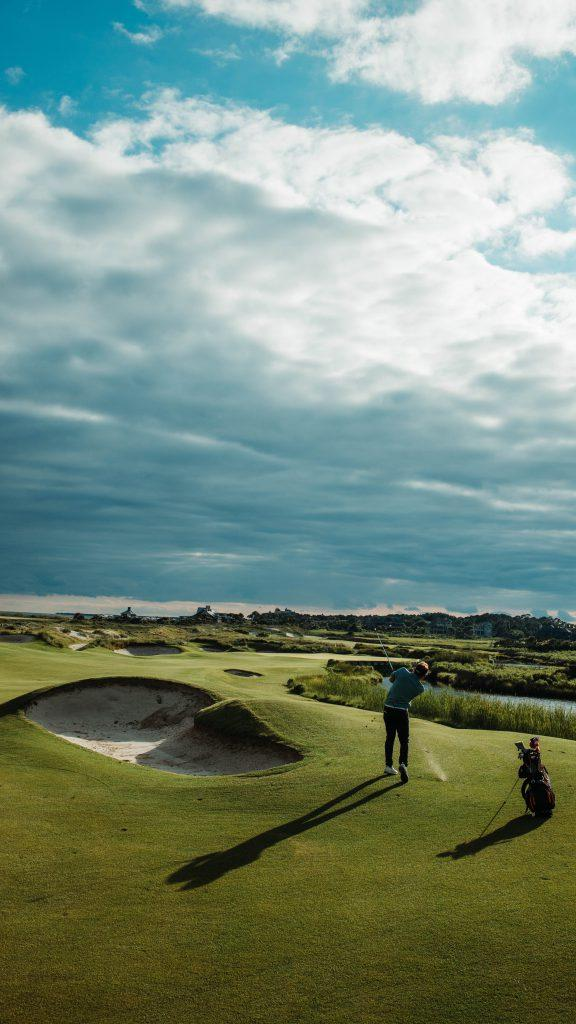 Golfeur à Biarritz - Hôtel Le Garage