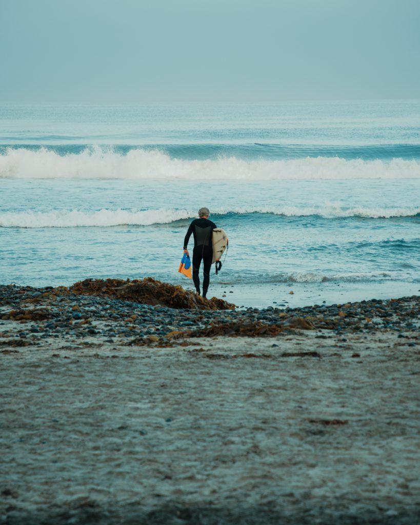 Surfeur à Biarritz Hôtel le Garage
