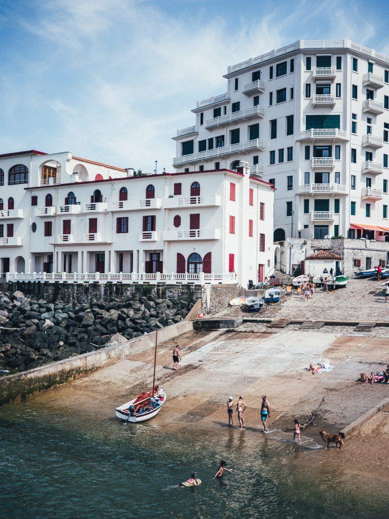Port et plage de Guéthary